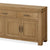 The Abbey Grande Extra Large King Oak Sideboard - Close Up of Cupboard