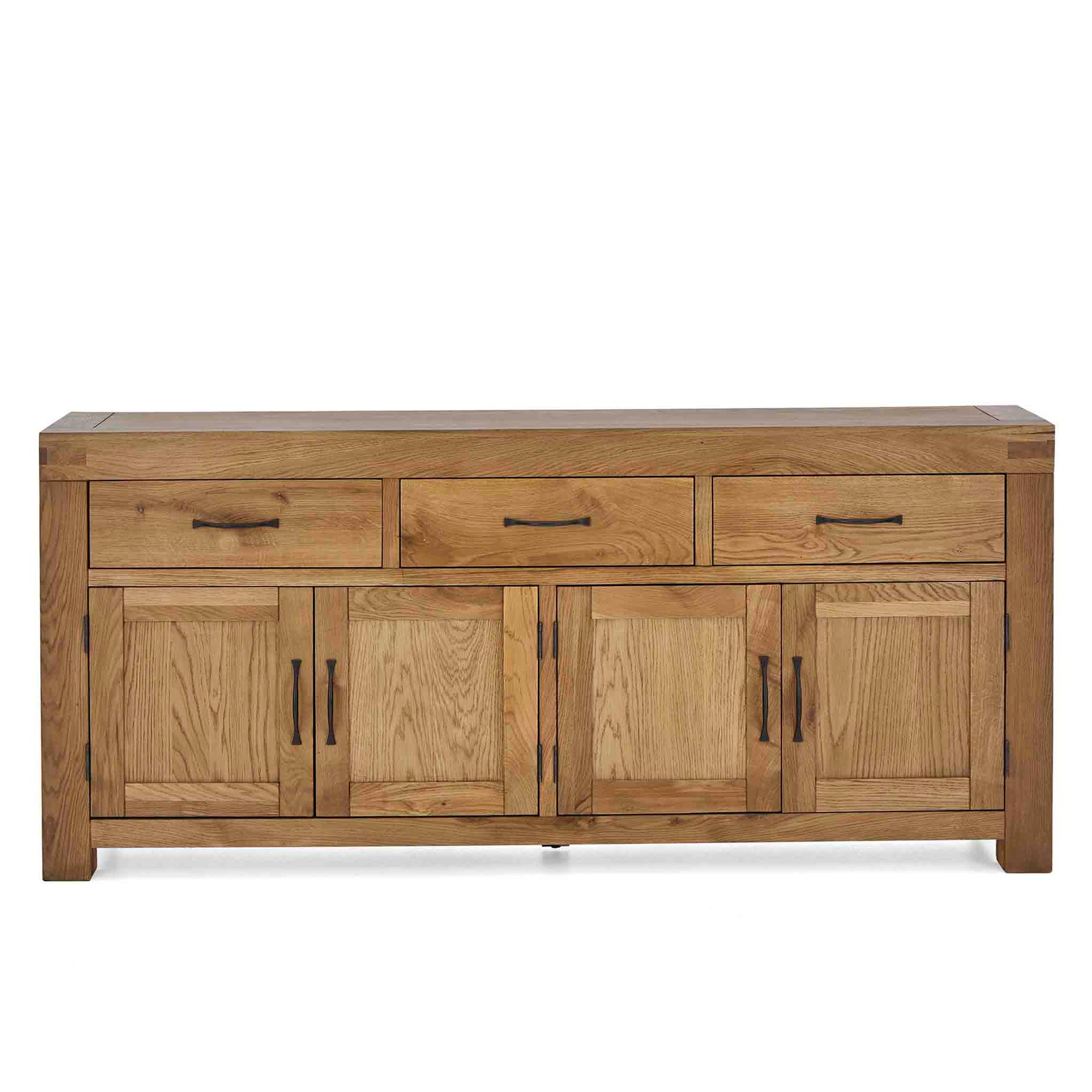 Abbey Grande Extra Large King Oak Sideboard from Roseland Furniture
