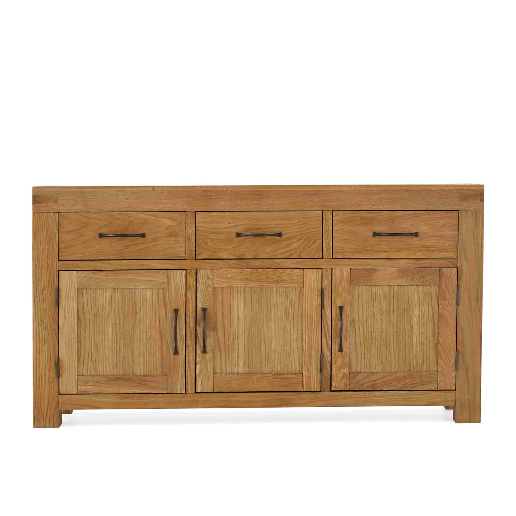 Abbey Grande Oak Large Sideboard by Roseland Furniture