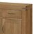The Abbey Grande Oak Small Sideboard - Close Up of Drawer
