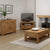 The Abbey Grande Oak Small Sideboard - Lifestyle