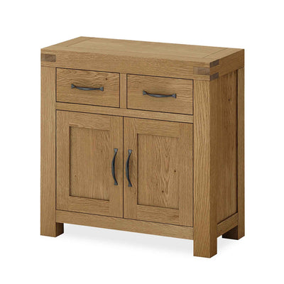 The Abbey Grande Oak Mini Sideboard