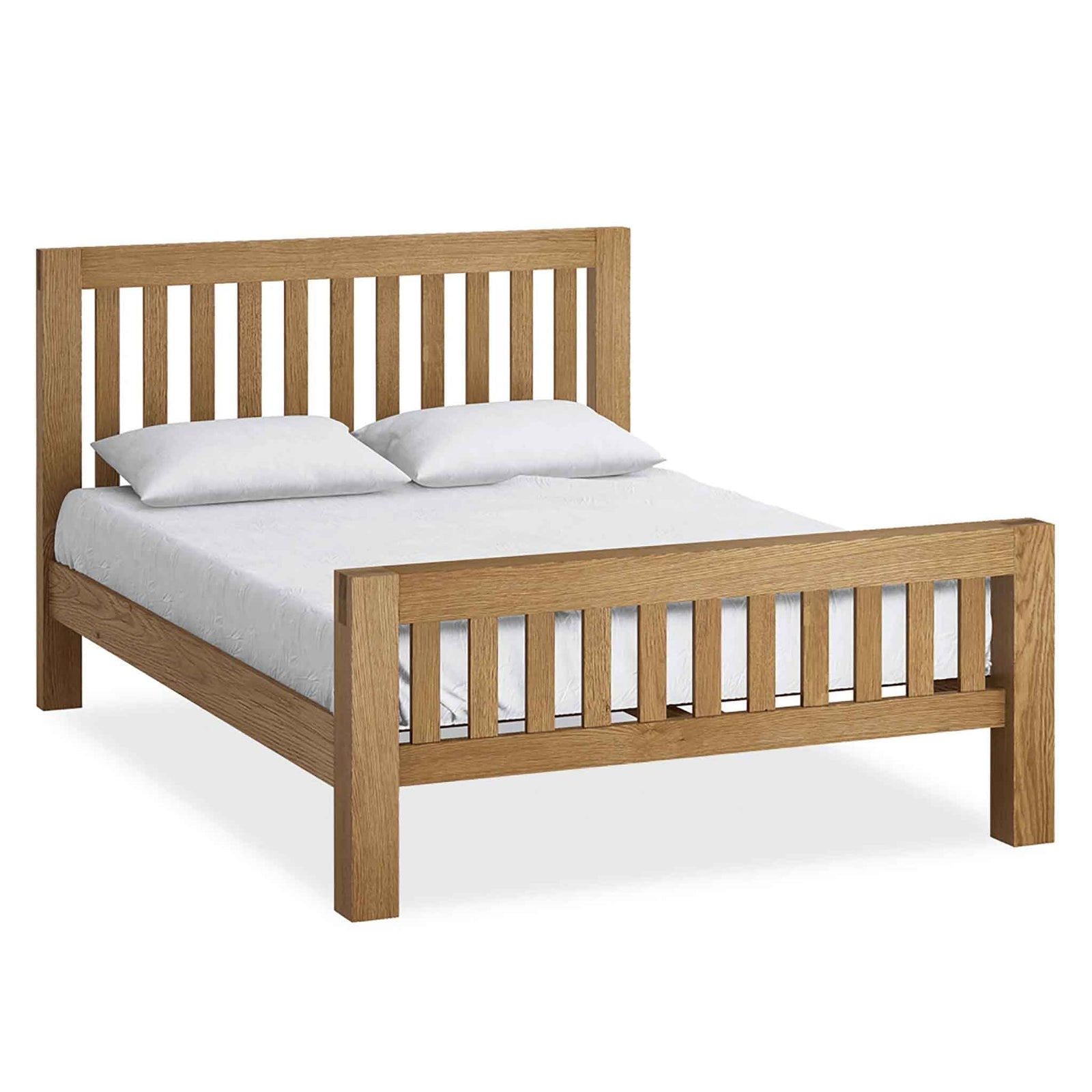 King Size Beds Oak Solid Wood Bed Frames Bedroom Furniture Roseland Furniture