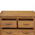 Abbey Grande Oak 2 Over 3 Chest of Drawers - Close up of drawers when open