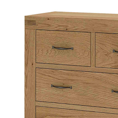 The Abbey Grande Bedroom Chest of Drawers - Close Up Of Top Drawer