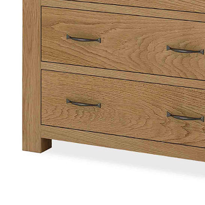 The Abbey Grande Bedroom Chest of Drawers - Close Up View of Bottom
