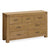 The Abbey Grande Large Bedroom Chest of Oak Drawers from Roseland Furniture