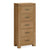 The Abbey Grande Oak Tallboy Chest of Bedroom Drawers from Roseland Furniture