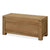 The Abbey Grande Oak Blanket Box Ottoman