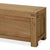 The Abbey Grande Oak Blanket Box - Close Up View
