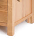 Roseland Furniture logo The Abbey Light Oak Double Wardrobe
