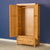 Abbey Light Oak Double 2 Door Wardrobe - Lifestyle