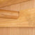 Abbey Light Oak Double Wardrobe - Close up of hanging rail inside wardrobe