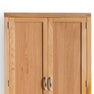 Wooden swatch for The Abbey Light Oak Double Wardrobe by Roseland Furniture