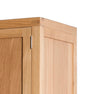 Single Drawer of The Abbey Light Oak Double Wardrobe by Roseland Furniture