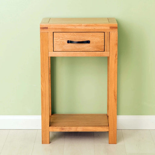 The Abbey Waxed Small Hall Telephone Table from Roseland Furniture
