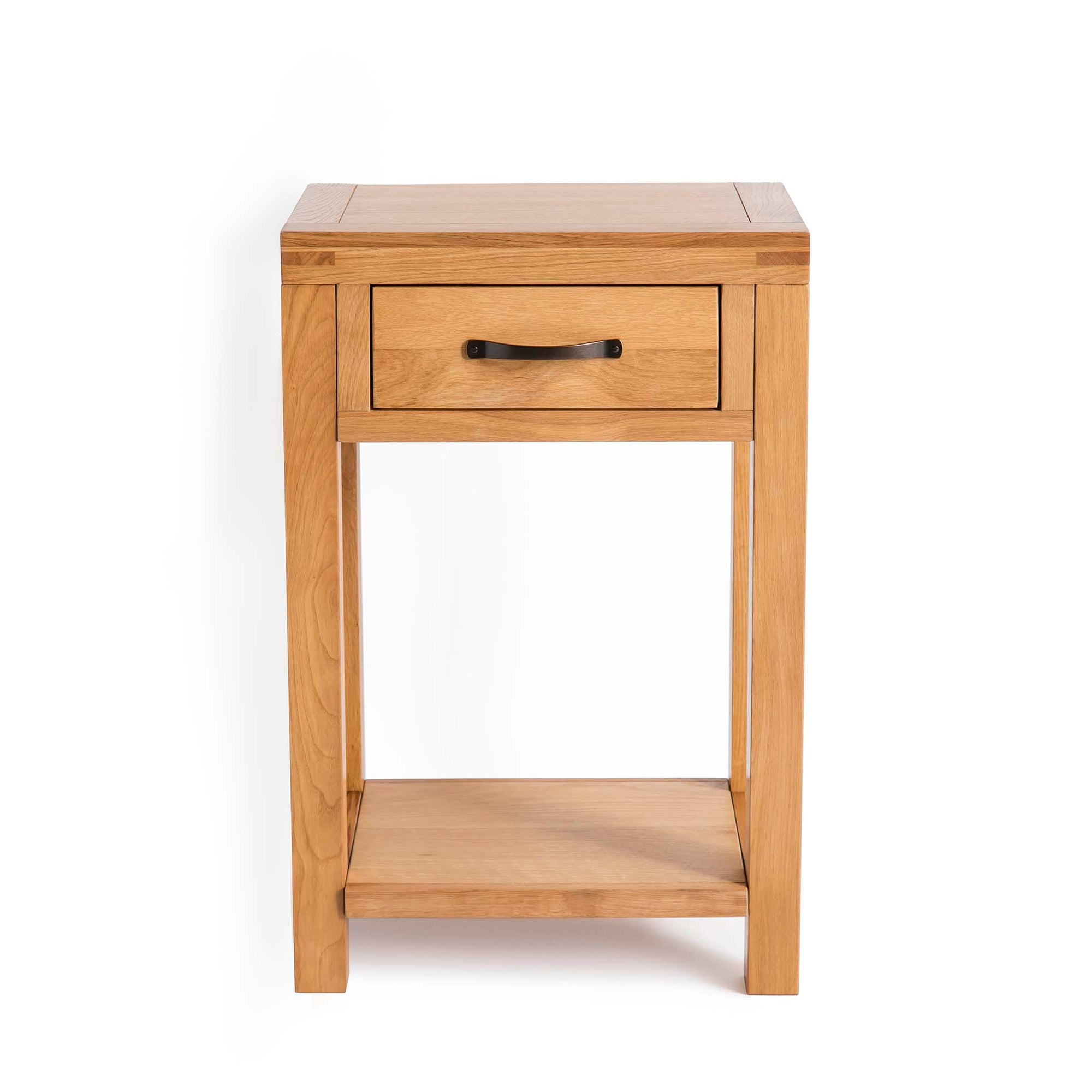 Abbey Waxed Small Hall Telephone Table by Roseland Furniture