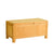 Abbey Waxed Oak Ottoman Blanket Box by Roseland Furniture