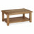 The Canterbury Wooden Oak Coffee Table with Shelf from Roseland Furniture