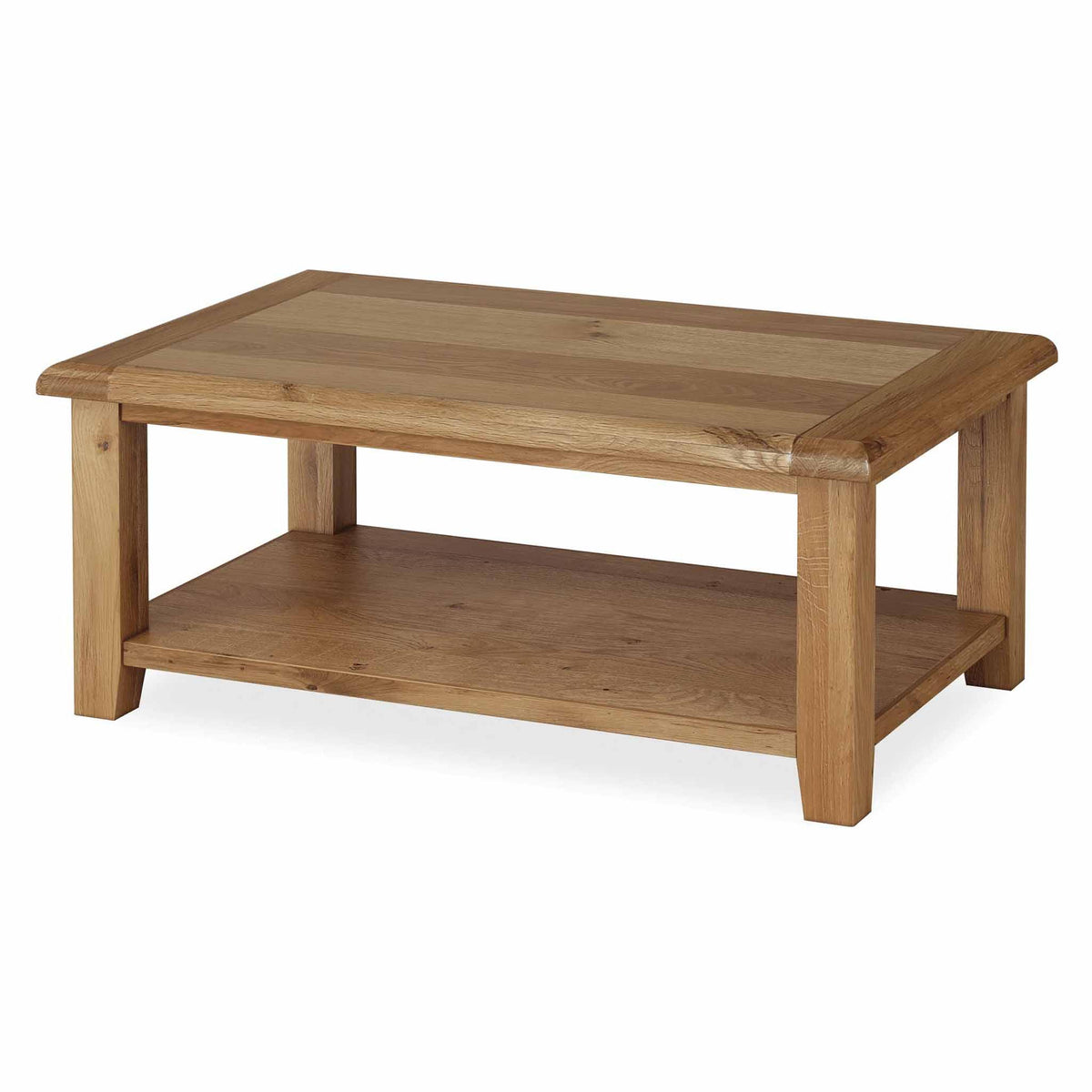 Canterbury Wooden Oak Coffee Table