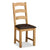 The Cotswold Oak Solid Wood Dining Chair from Roseland Furniture