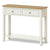The Windsor Cream Painted Console Table with Storage Drawers from Roseland Furniture