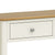 The Windsor Cream Painted Console Table with Storage Drawers - Close Up of Drawer