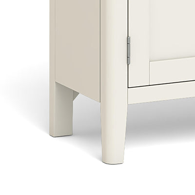 The Windsor Cream Mini Sideboard - Close Up of Feet