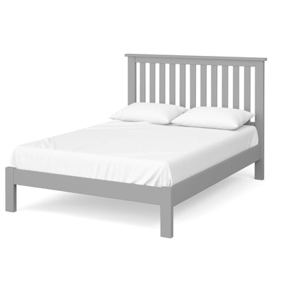 The Cornish Grey Wooden Double Bed Frame