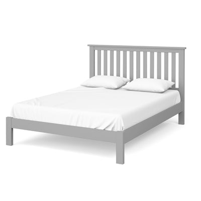 The Cornish Grey Wooden 5 Ft King Size Bed Frame