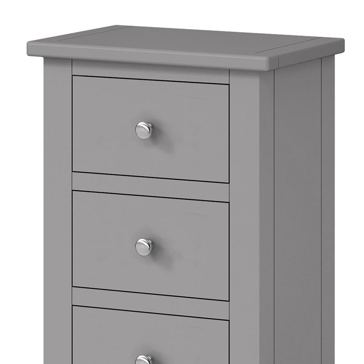 The Cornish Grey Tallboy - Close Up of Top of Unit