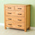 The Abbey Waxed Oak Bedroom Furniture Set Large Chest of Drawers