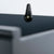 Close up of the rear drawer latch on the Chichester Charcoal Small Sideboard