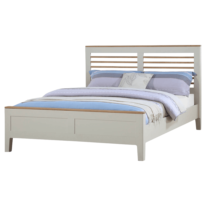 Dunmore Painted 4'6 Slatted Bed