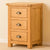 Roseland Oak Bedside Table by Roseland Furniture