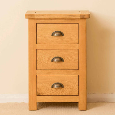 Roseland Oak Bedside Table