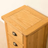 Top of Roseland Oak Bedside Table