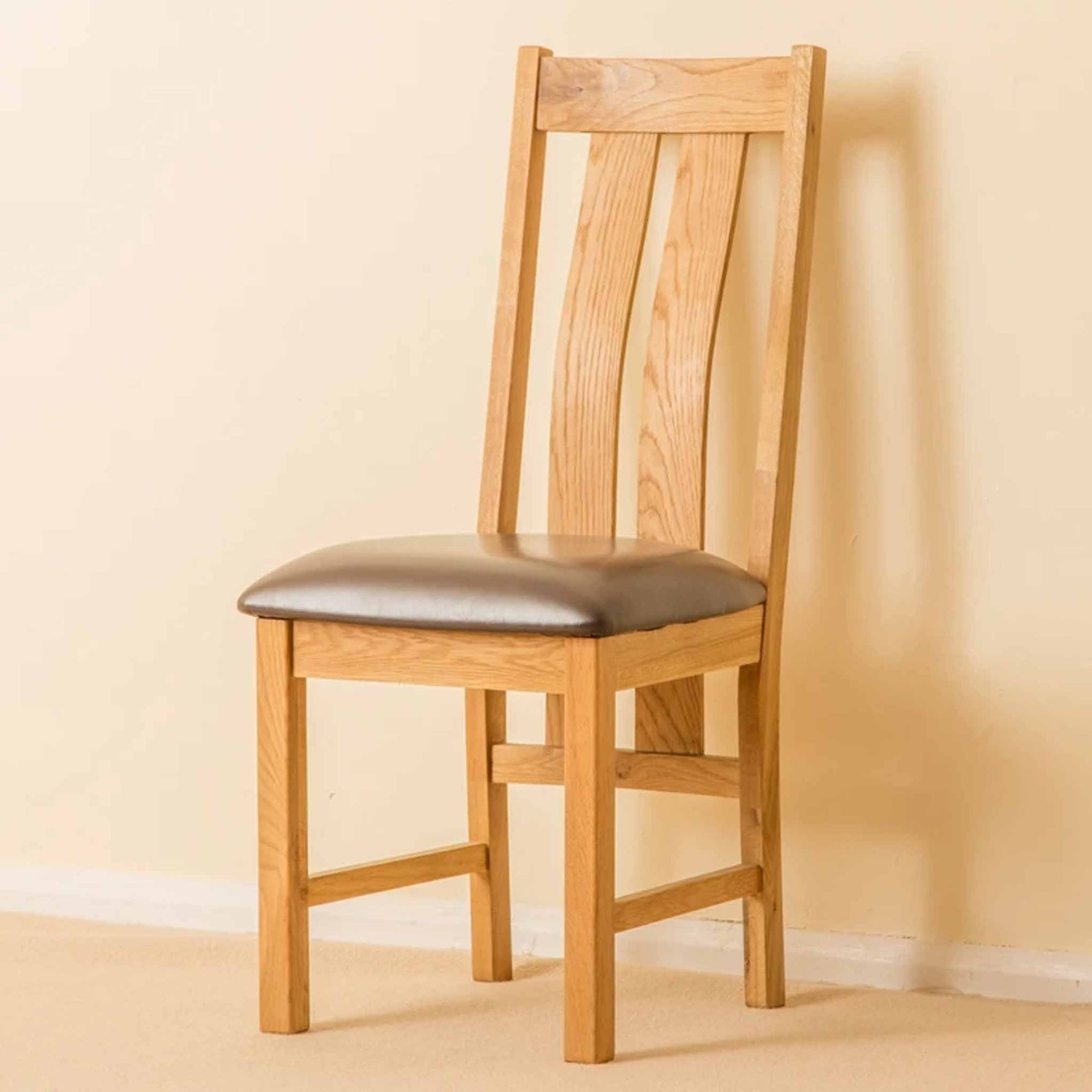 Roseland Oak Dining Chair by Roseland Furniture