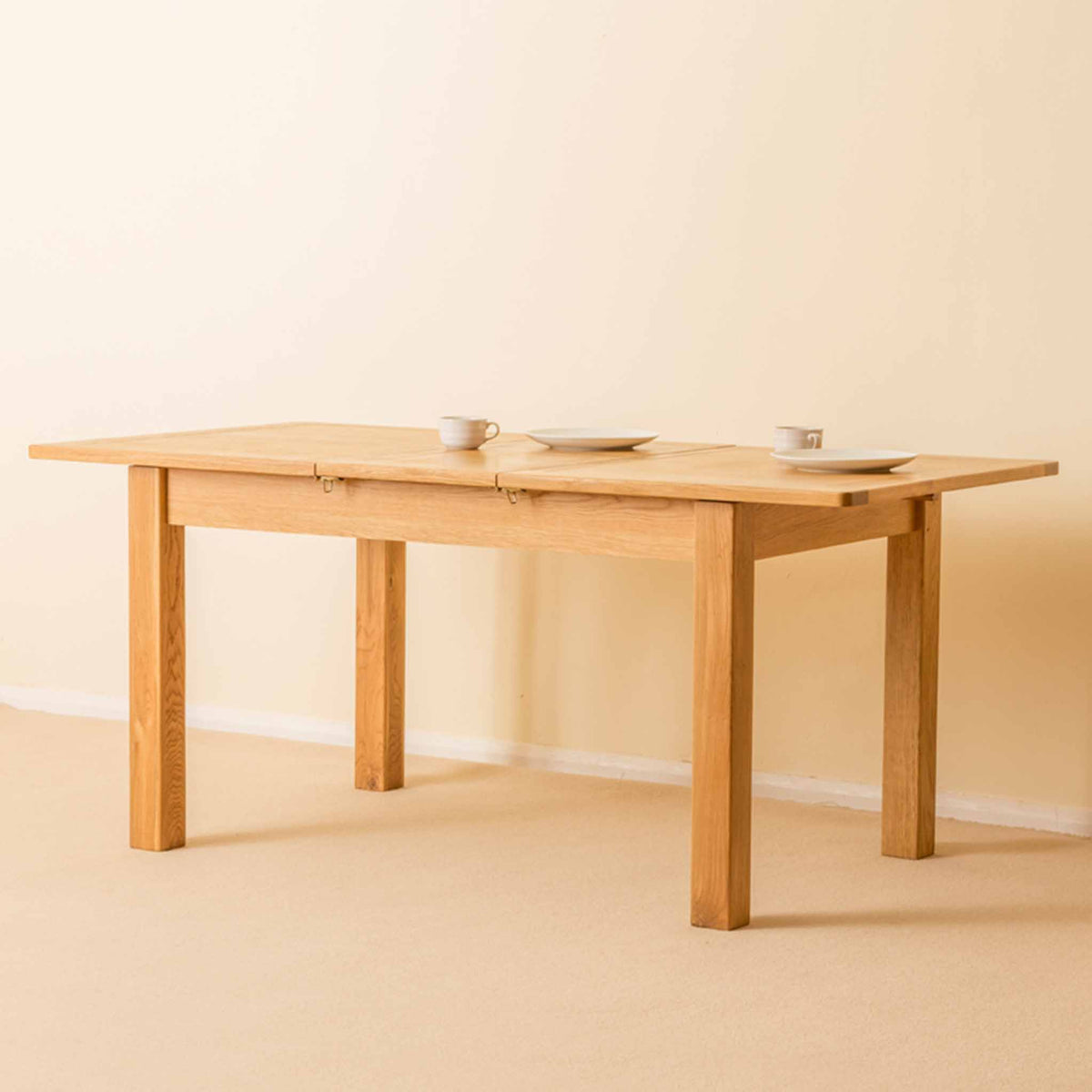 Roseland Oak Extendable Dining Table