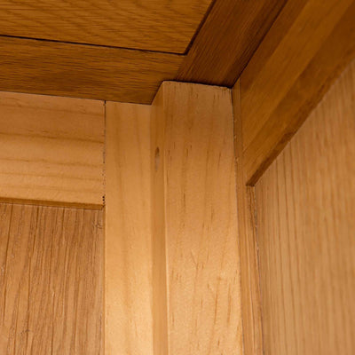 Internal joint of Roseland Oak Double Wardrobe