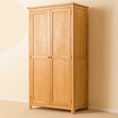 Roseland Oak Double Wardrobe by Roseland Furniture