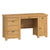 Roseland Oak Double Pedestal Desk by Roseland Furniture