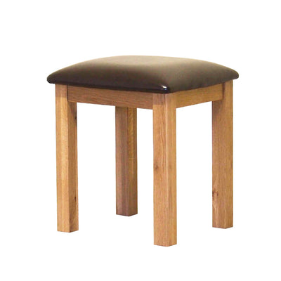 Roseland Oak Stool by Roseland Furniture