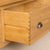 Dovetail joint on drawer of Roseland Oak Triple Wardrobe & Drawers