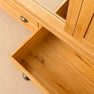 Drawer of Roseland Oak Triple Wardrobe & Drawers