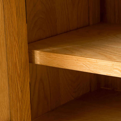 Shelf of Roseland Oak 100cm TV Stand