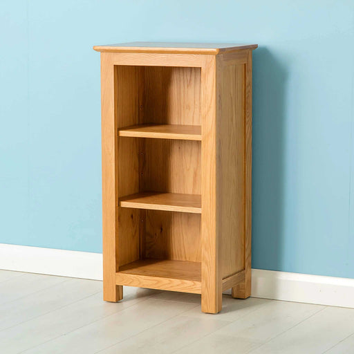 Nordic Oak Mini Bookcase by Roseland Furniture