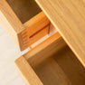 Drawers of Nordic Oak 3 Door 3 Drawer Sideboard