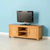 Nordic Oak Plasma TV Cabinet by Roseland Furniture