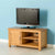 Nordic Oak 97cm TV Cabinet by Roseland Furniture